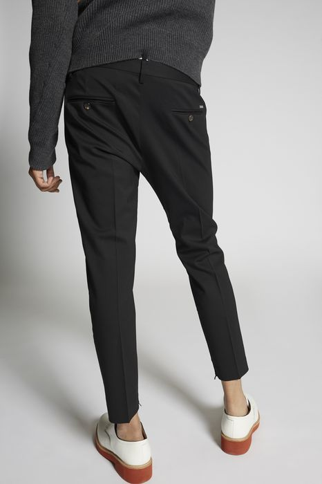 skinny dan fit stretch wool pants pants Man Dsquared2