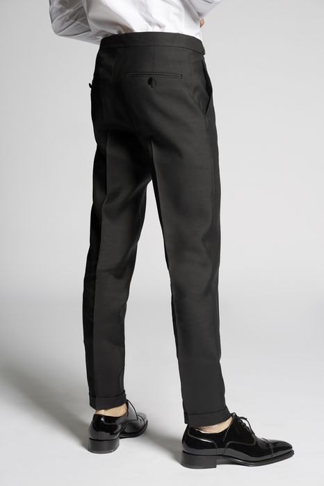 silk wool london pants pants Man Dsquared2
