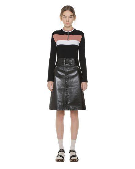 REDValentino Skirt Woman PR3NI01K3HK 0NO f