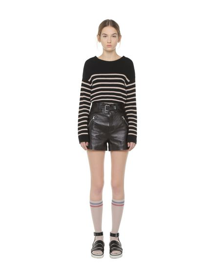 REDValentino Shorts Woman PR3NH01A3HT 0NO f
