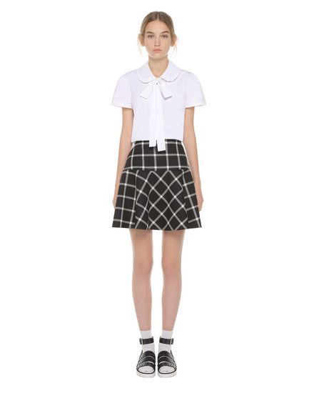 REDValentino 半裙 女士 PR3RA2L03F5 0NO f