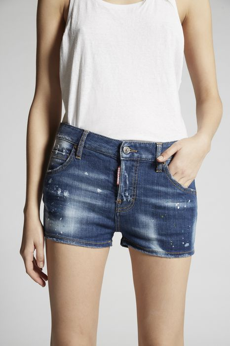 light pocket shadow cool girl shorts pants Woman Dsquared2
