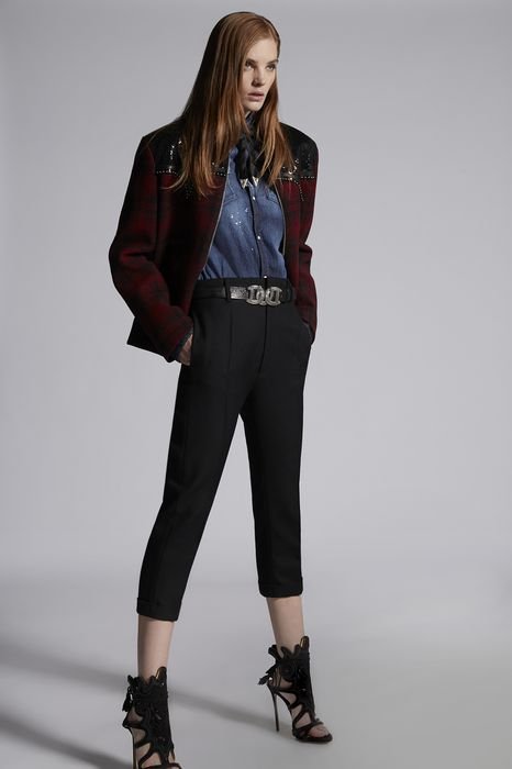 wool-twill dennis pants pants Woman Dsquared2