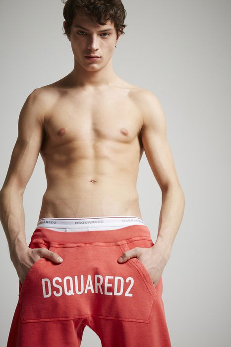 cotton sweatpants pants Man Dsquared2