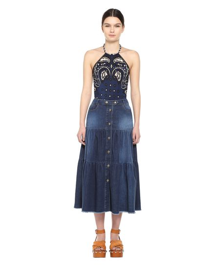 REDValentino Skirt Woman PR0DD02L3S6 678 f