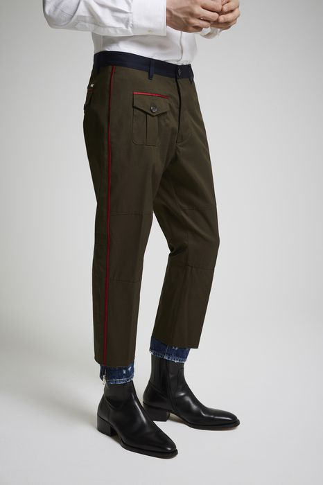 cotton twill hockney pants pants Man Dsquared2