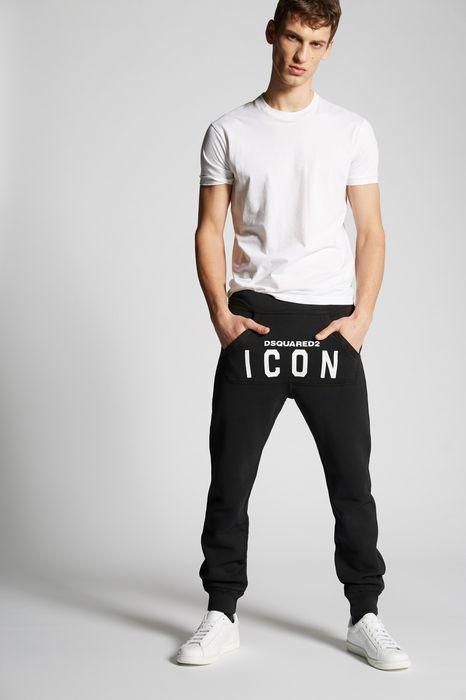 icon sweatpants pants Man Dsquared2