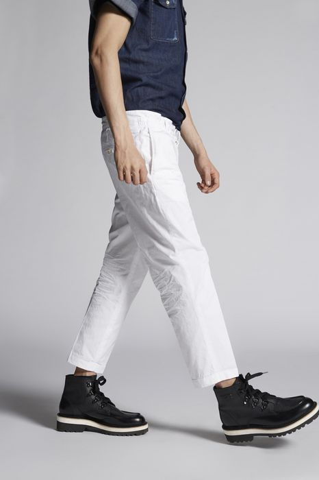 light cotton dan elastic pants pants Man Dsquared2