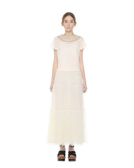 REDValentino Skirt Woman PR0RA2S51GK A03 f