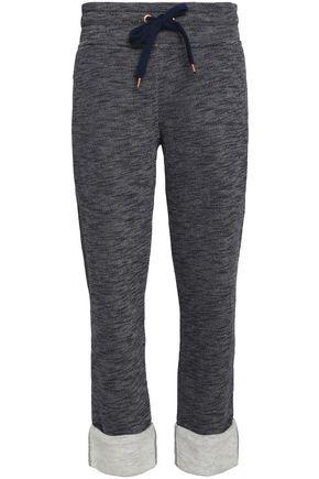 씨 바이 클로에 트랙 팬츠 다크 그레이 SEE BY CHLOÉ Melange terry track pants,Dark gray