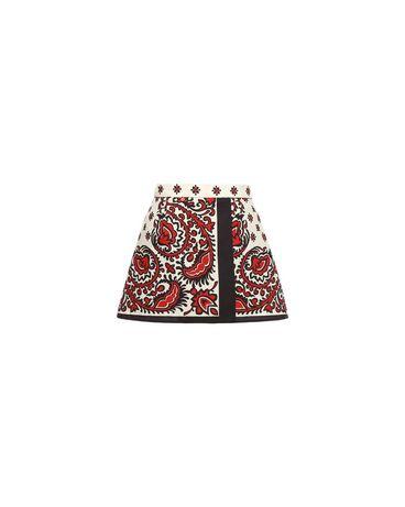 REDValentino PR0RF1703MQ C61 Shorts Woman a