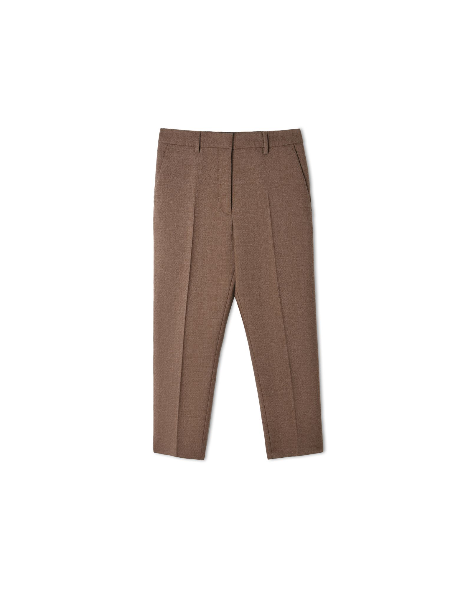TAILORED PANTS - BEIGE