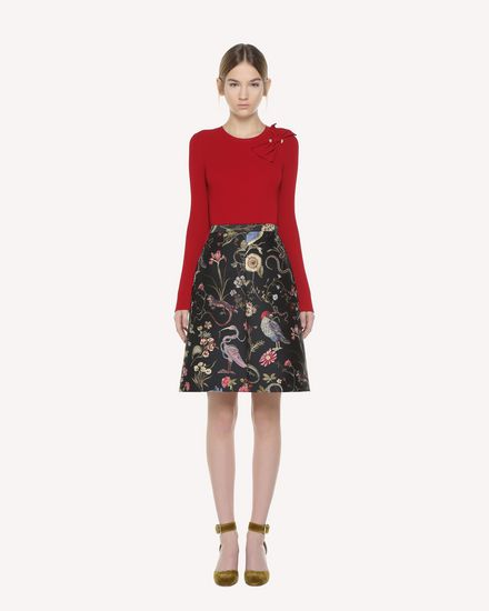 REDValentino Skirt Woman QR3RA2X53T 0NO f