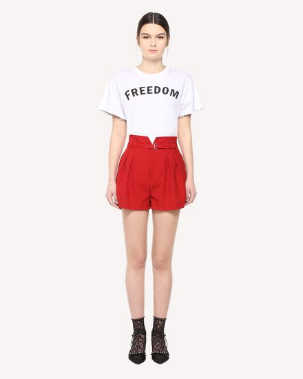 REDValentino 短裤 女士 QR3RF1A50VM C61 f