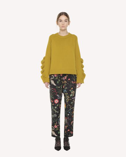 REDValentino Pants Woman QR3RB1B03T4 0NO f