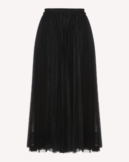 REDValentino Skirt Woman QR3RA3303TV 0NO a