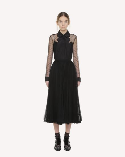 REDValentino Skirt Woman QR3RA3303TV 0NO f