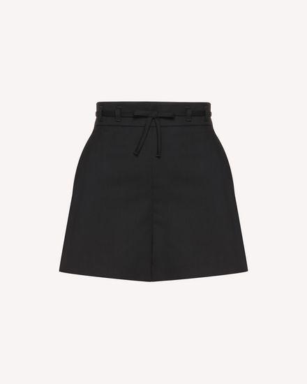 REDValentino 短裤 女士 QR3RF1B53SL 0NO a