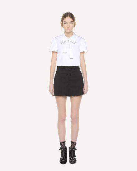 REDValentino 短裤 女士 QR3RF1B53SL 0NO f