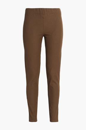 조셉 레깅스 브라운 JOSEPH Gabardine leggings,Brown