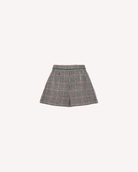 Double Windowpane shorts