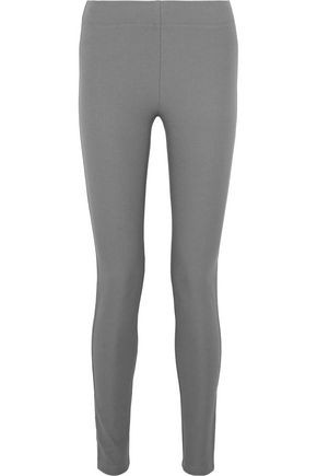 조셉 레깅스 그레이 JOSEPH Stretch-twill leggings,Gray