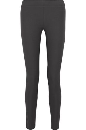 조셉 레깅스 다크 그레이 JOSEPH Stretch-twill leggings,Dark gray