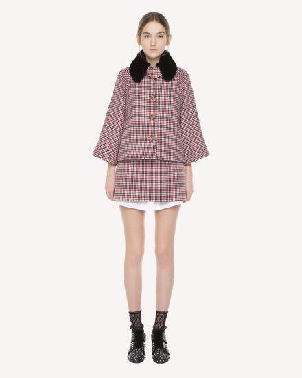REDValentino Skirt Woman QR3RA3003SV C61 f