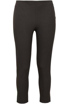 조셉 JOSEPH Tony cropped stretch-twill skinny pants,Dark gray
