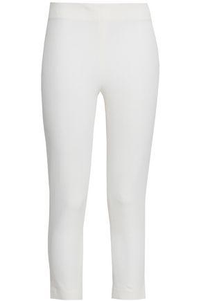 조셉 JOSEPH Tony cropped stretch-twill skinny pants,Ivory
