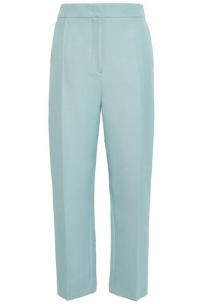 조셉 JOSEPH Wool-blend straight-leg pants,Mint