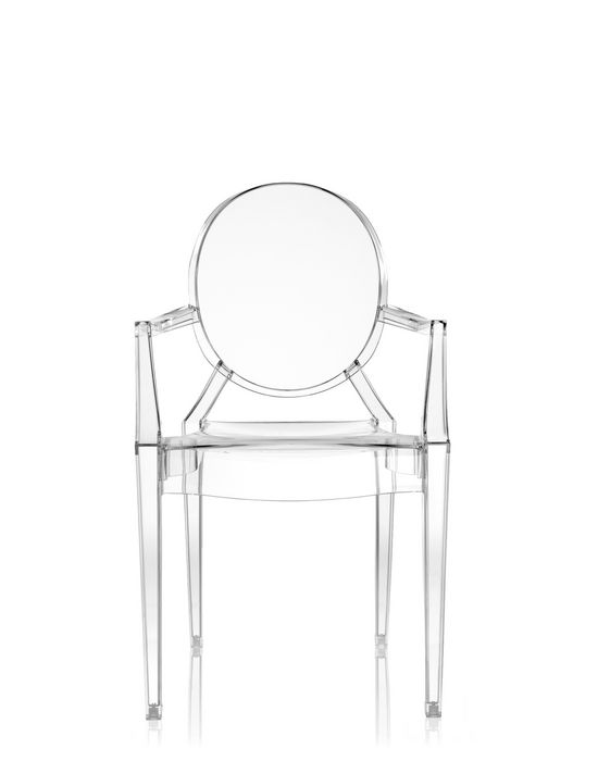 kartell louis ghost small armchair shop online at kartell com