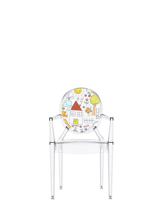 Kartell LOU LOU GHOST Armchair - Shop online at Kartell.com