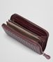 BOTTEGA VENETA Aubergine Intrecciato Vn Zip Around Wallet Zip Around Wallet U ap