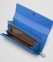 BOTTEGA VENETA CONTINENTAL PORTEMONNAIE aus Ayers Livrea Intrecciato SIGNAL BLUE Continental Portemonnaie D ap