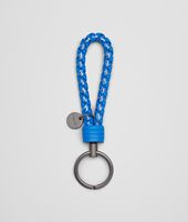 Signal Blue Intrecciato Ayers Livrea Key Ring