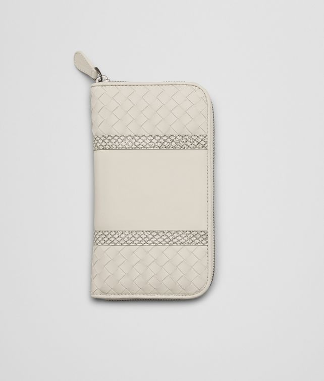 MIST INTRECCIATO NAPPA AYERS ZIP AROUND WALLET