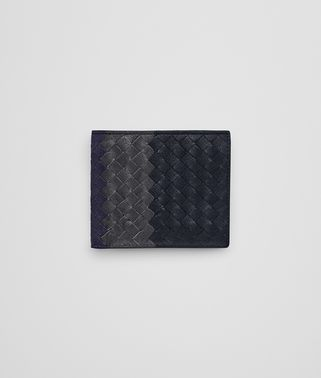 WALLET IN DARK NAVY ARDOISE ATLANTIC INTRECCIATO CLUB