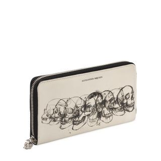 ALEXANDER MCQUEEN, Wallet, Continental Zip Around Wallet