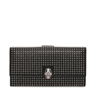 ALEXANDER MCQUEEN, Wallet, Leather and Studs Continental Wallet