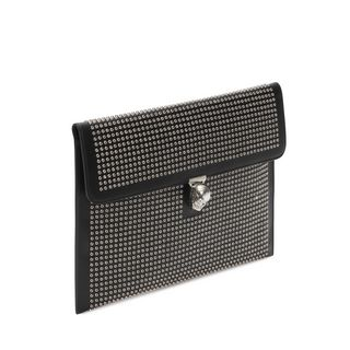 ALEXANDER MCQUEEN, Envelope, Mini Studs Skull Closure Envelope