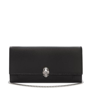 ALEXANDER MCQUEEN, Wallet, Leather Wallet with Chain