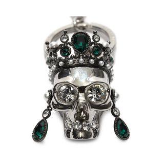 ALEXANDER MCQUEEN, Schlüsselanhänger, Schlüsselring Royal Skull