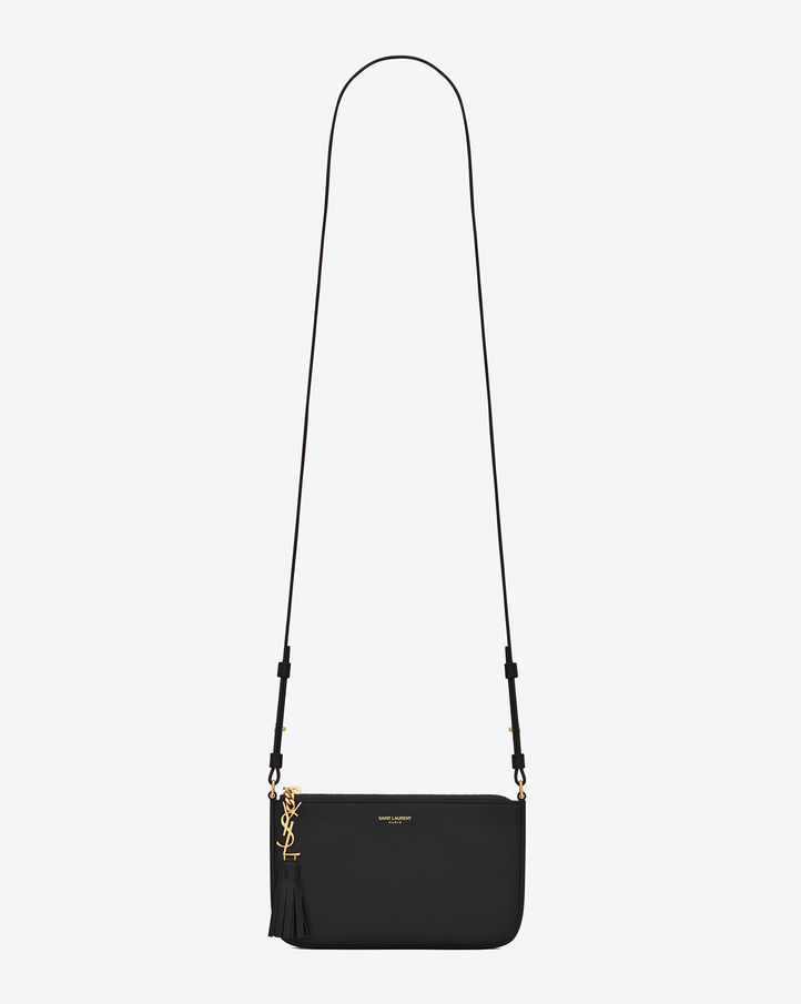 Saint Laurent MONOGRAM SAINT LAURENT Crossbody Phone Pouch In ...