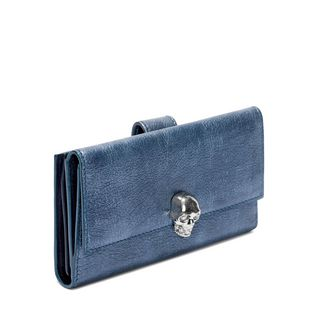 ALEXANDER MCQUEEN, Wallet, Denim Continental Wallet