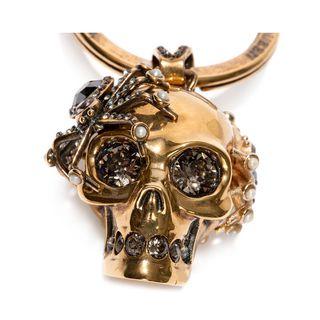 ALEXANDER MCQUEEN, Keyring, Spider Skull Ring