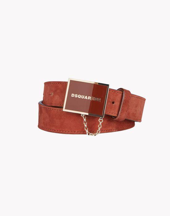 plaque belt belts Woman Dsquared2