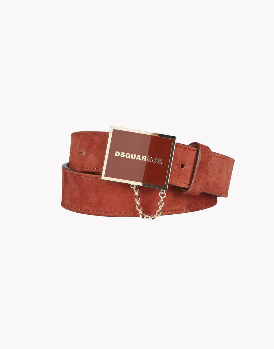 plaque belt belts Woman Dsquared2