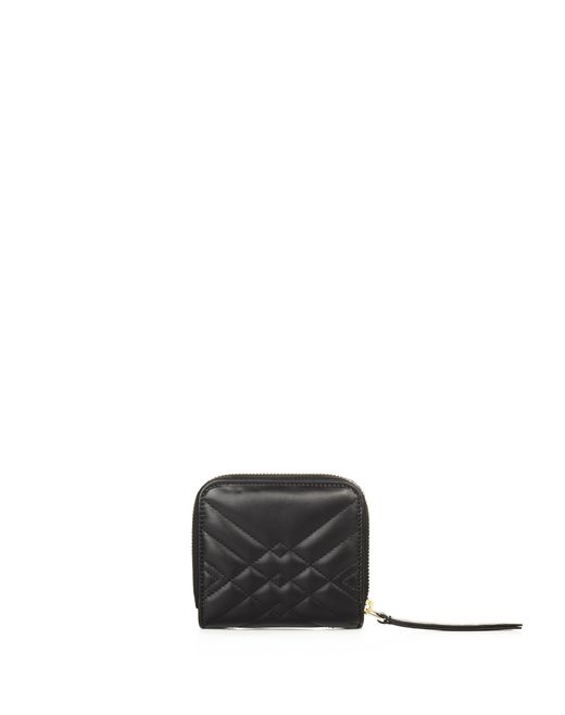 lanvin compact quilted sugar purse women