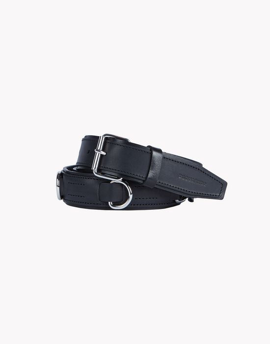 double leather belt belts Man Dsquared2